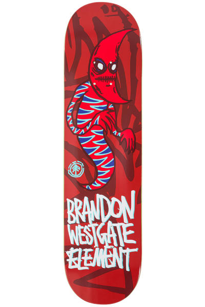 "Element x FOS Westgate Sprites 7.75"" Deck (red)"