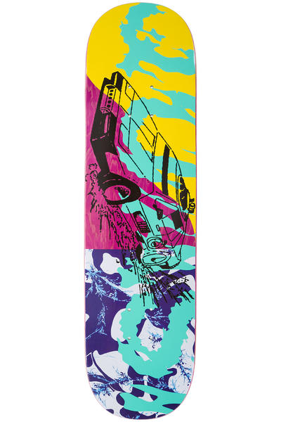 "Quasi Skateboards Fastcar 8.25"" Deck (pink)"
