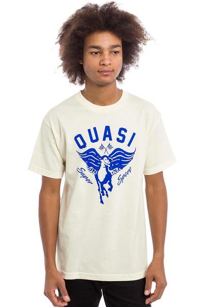 Quasi Skateboards Super Sport Camiseta (creme)