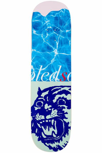 """Quasi Skateboards Bledsoe Tigris 8.25"""" Deck (mintwash natural)"""