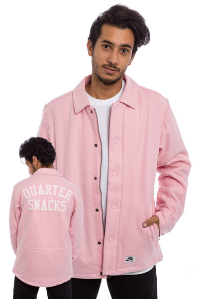 Nike SB x Quartersnacks Coaches Jacket (sheen ivory)