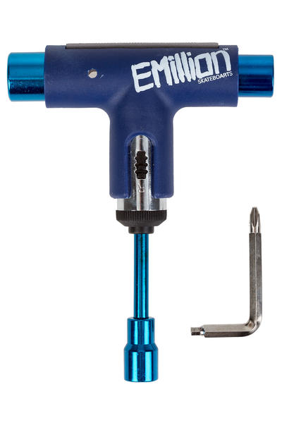 EMillion x Silver Spectrum Skate-Tool (blue white)