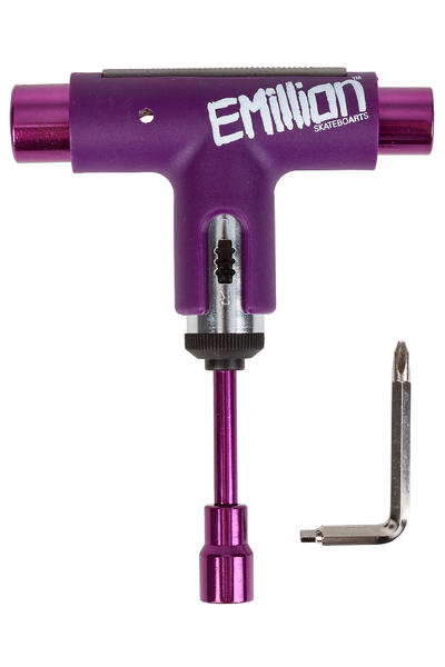 EMillion x Silver Spectrum Skate-Tool (purple white)