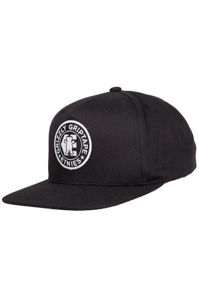 Etnies x Grizzly Snapback Cap (black)