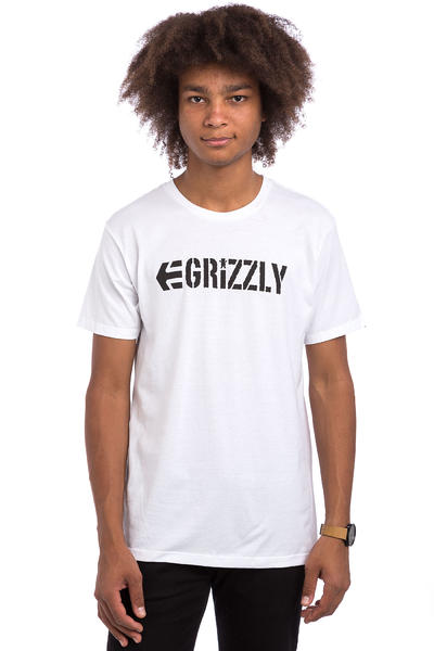 Etnies x Grizzly Lock T-Shirt (white)