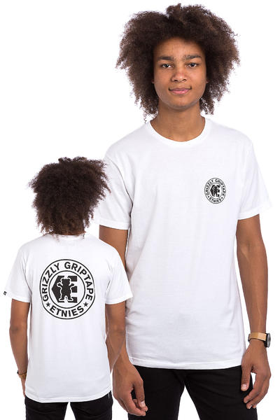 Etnies x Grizzly Corb T-Shirt (white)