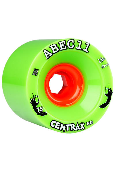 ABEC 11 Reflex Centrax HD 75mm 74A Rollen (green) 4er Pack