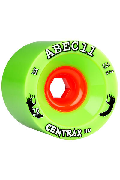ABEC 11 Reflex Centrax HD 75mm 77A Rollen (green) 4er Pack