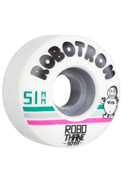 Robotron Robothane Giro 51mm Rueda (white) Pack de 4