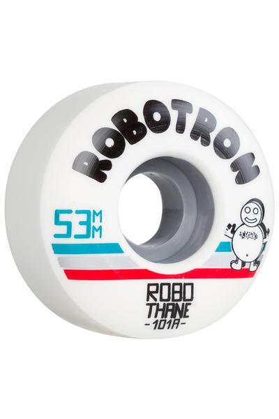 Robotron Robothane Giro 53mm Rueda (white) Pack de 4