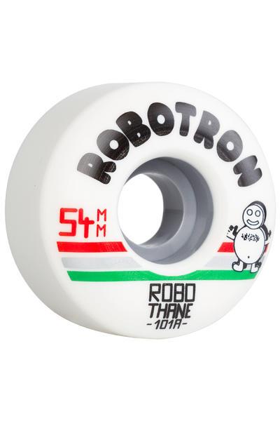 Robotron Robothane Giro 54mm Rueda (white) Pack de 4