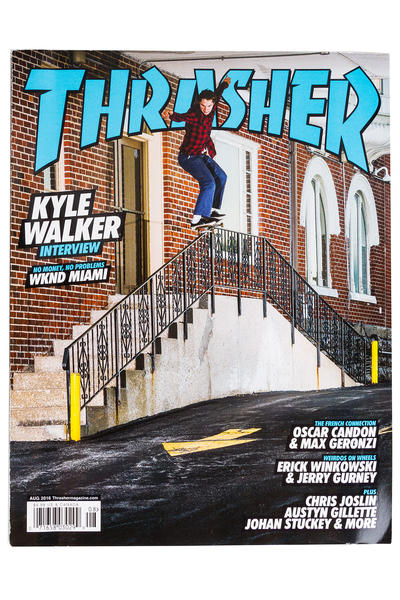 Thrasher August 2016 Revista