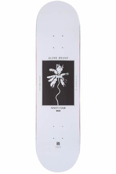 "Globe Palm Off 8"" Deck (white)"
