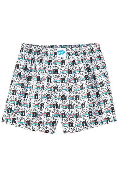 Lousy Livin Underwear Unicorn Boxershorts (white)