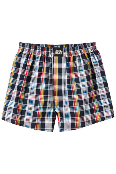 Lousy Livin Underwear Check Boxers (almond oil)