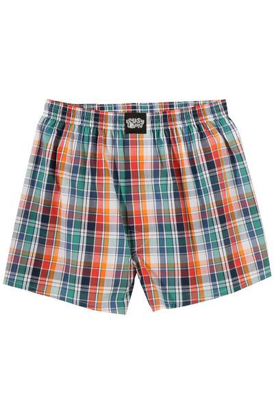 Lousy Livin Underwear Check Boxershorts (calypso coral)