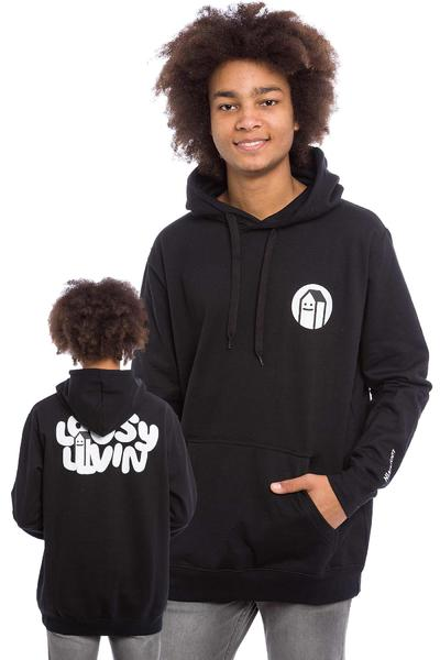 Lousy Livin Underwear House sweat à capuche (black)