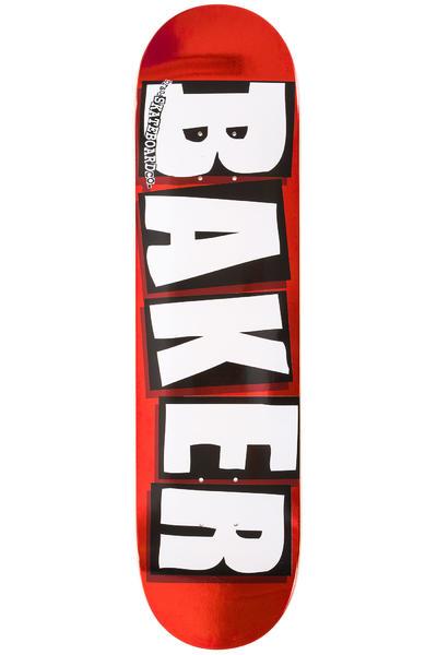 """Baker Brand Logo 8"""" Deck (red foil)"""