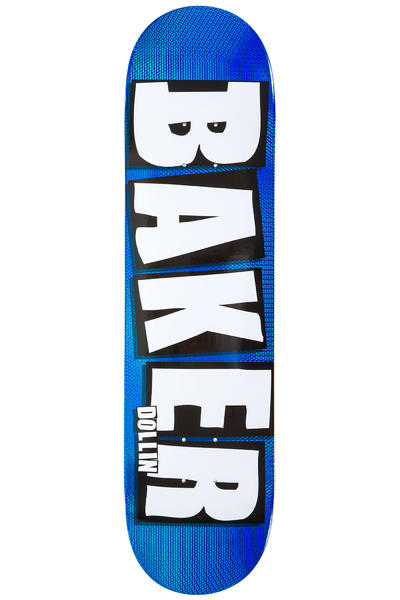 "Baker Dollin Brand Name 8"" Deck (blue holographic)"