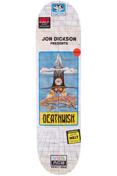 """Deathwish Dickson VHS Wasteland 8"""" Deck (multi)"""