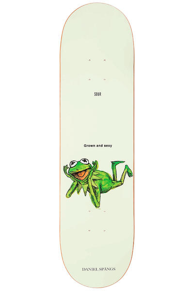 "Sour Skateboards Spängs Grown And Sexy 8.18"" Deck (white)"