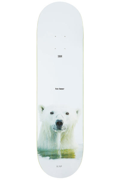 "Sour Skateboards Pettersson Ice Beer 8.125"" Deck (multi)"