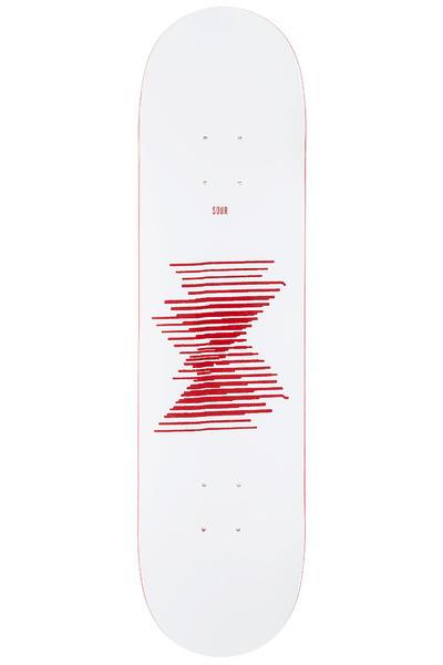 "Sour Skateboards Ean 8"" Deck (red)"