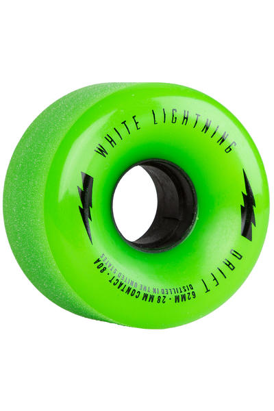 Moonshine MFG Drift 62mm 80A Wheel (green) 4 Pack