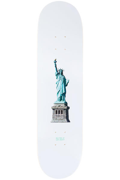"Zoo York Lady Liberty 8"" Deck (white)"
