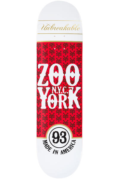 "Zoo York Red Label 8"" Deck (white red)"