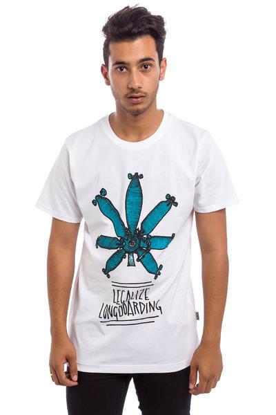Legalize Longboarding Legalize It T-Shirt (white)