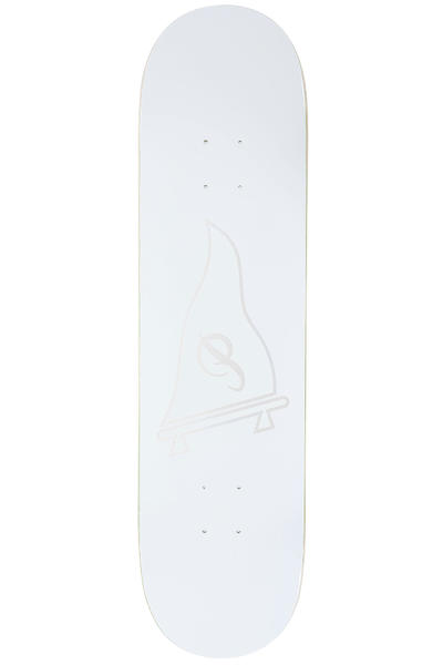 "Primitive Raised Pennant Logo 8"" Deck (white)"