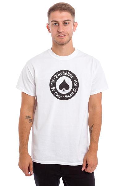 Thrasher Oath Camiseta (white)