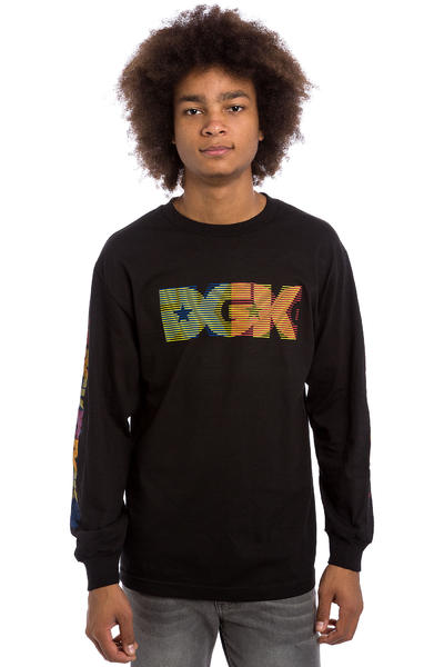 DGK Skateboards Primary Longues Manches (black)