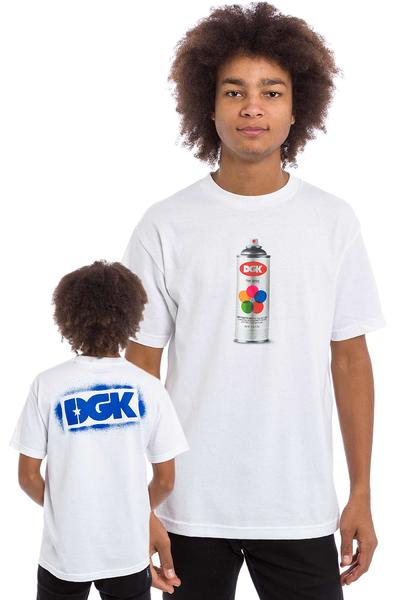 DGK Skateboards Hit Up T-Shirt (white)