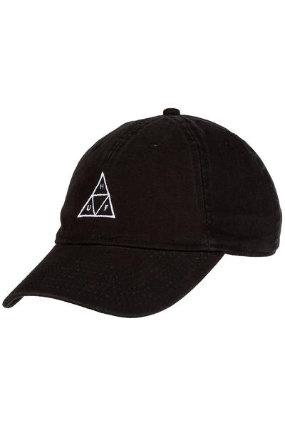 HUF Triple Triangle 6 Panel Cap (black)