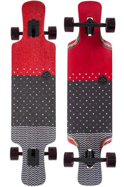 "Globe Geminon Kick 37,5"" (95,3cm) Komplett-Longboard (red dotwave)"
