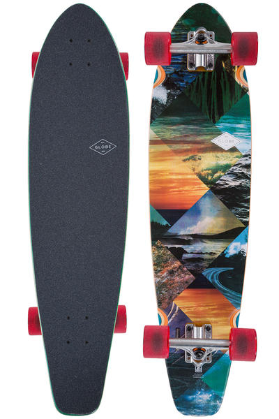 "Globe The All Time 35.875"" (90,5cm) Longboard-completo (escape)"