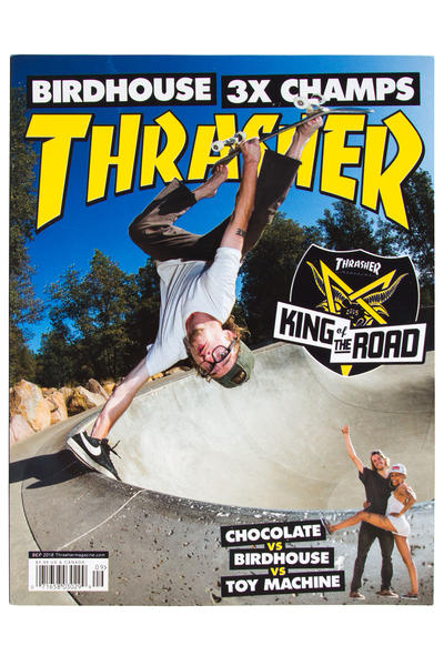 Thrasher September 2016 Magazin