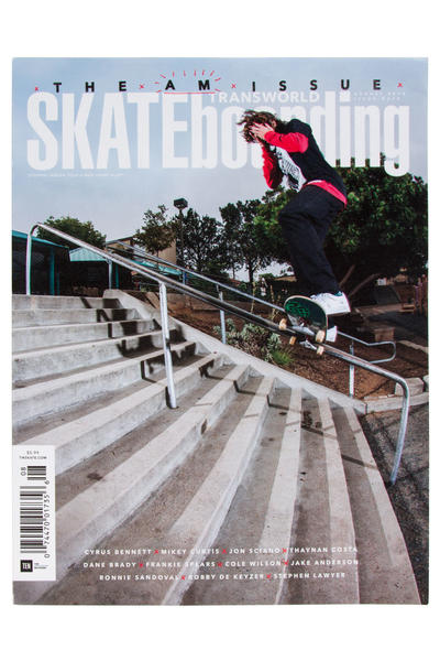 Transworld August 2016 Revista
