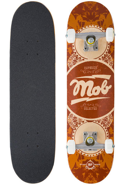 "MOB Skateboards Gold Label Mini 7.25"" Complete-Board (orange)"