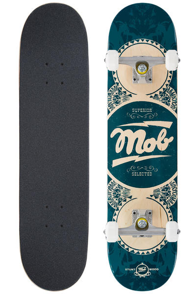 "MOB Skateboards Gold Label 7.5"" Complete-Board (blue)"