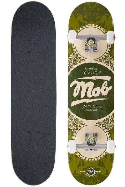 "MOB Skateboards Gold Label 7.75"" Complete-Board (green)"