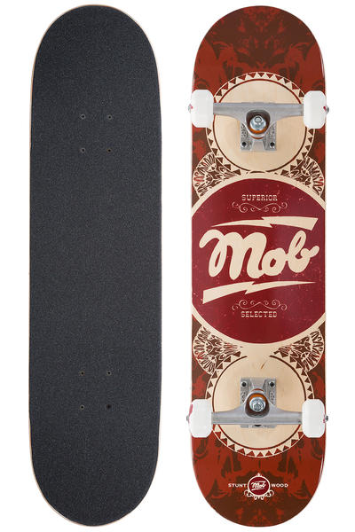 "MOB Skateboards Gold Label 8"" Complete-Board (red)"
