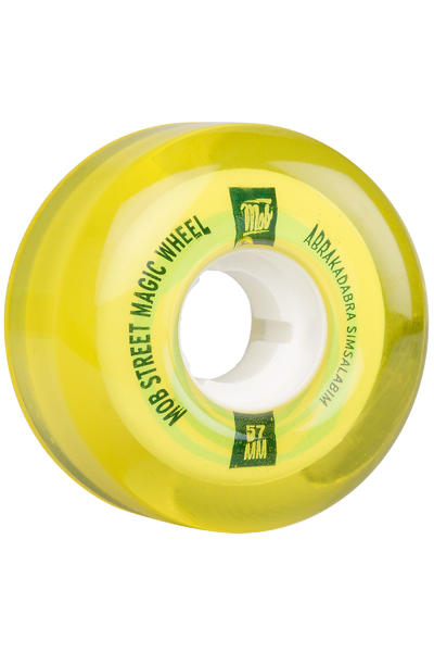 MOB Skateboards Street Magic 57mm Rollen (yellow) 4er Pack