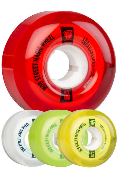 MOB Skateboards Street Magic 57mm Rollen (candy mixed) 4er Pack