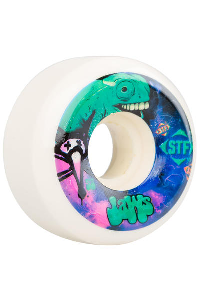 Bones STF Homoki Gecko 53mm Wheel (white) 4 Pack