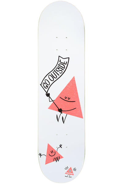 "Inpeddo Triangle 8"" Deck (white)"