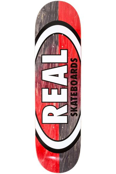 "Real Team Double Dip Oval 8.38"" Deck (black red)"
