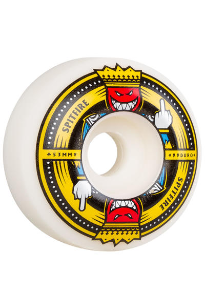 Spitfire Anti Up 53mm Roue (white) 4 Pack